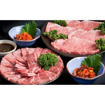 D40-031 森山牧場産 焼き肉(800g)&キムチ(2種類)セット 4万円コース