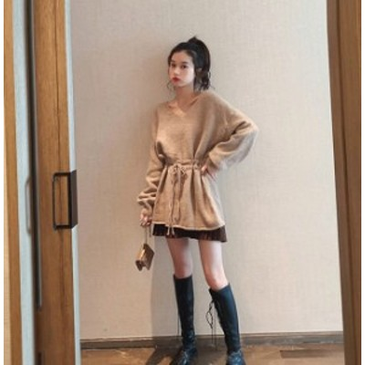 くすみカラー トップス ウエストリボンブラウス 大きいサイズのレディース服 30代 40代 50代のファッションレディース 大人コーデ