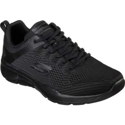 【残り1点!】【サイズ:28.5cm】スケッチャーズ Skechers メンズ シューズ・靴 スニーカー Relaxed Fit Equalizer 3.0 Sneaker Black/Black