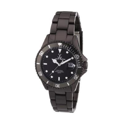 ToyWatch Unisex Quartz Watch with Black Dial Analogue Display Aluminium ME01GU 並行輸入品
