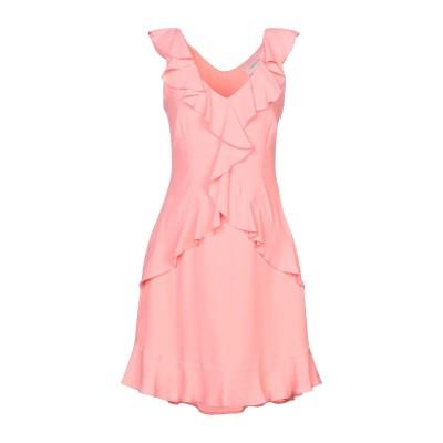 TWENTY EASY by KAOS ミニワンピース&ドレス ピンク 40 アセテート 83% / シルク 17% ミニワンピース&ドレス