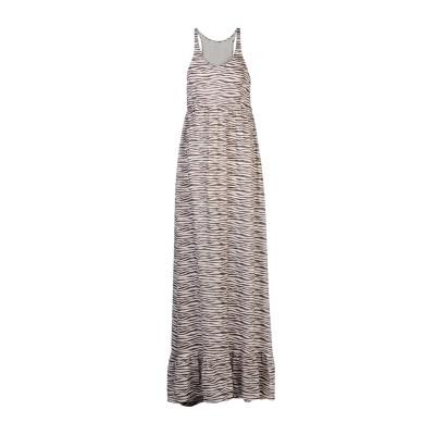 ピエール バルマン PIERRE BALMAIN ロングワンピース&ドレス ホワイト 40 100% シルク ロングワンピース&ドレス