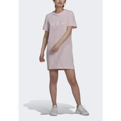 アディダスオリジナルス ワンピース レディース トップス Jersey dress - pink