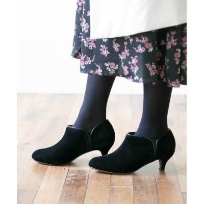 welleg from outletshoes / シンプル バイカラー ローヒール ブーティ WOMEN シューズ > ブーツ