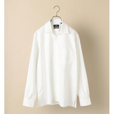 【シップス/SHIPS】 SHIPS×IKE BEHAR: アメリカ製 オックスフォード オープンカラー シャツ