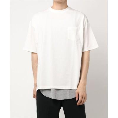 Discoat / サーマルタンクレイヤードTシャツ MEN トップス > Tシャツ/カットソー