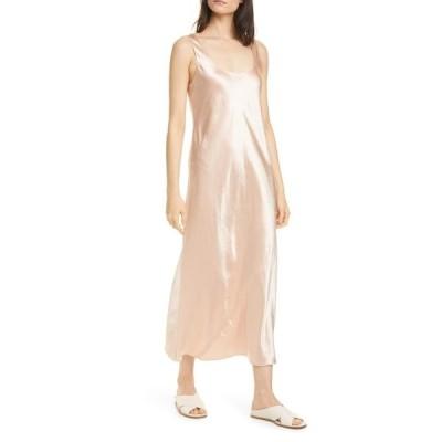 ヴィンス レディース ワンピース トップス Square Neck Sleeveless Slip Dress Petal Still