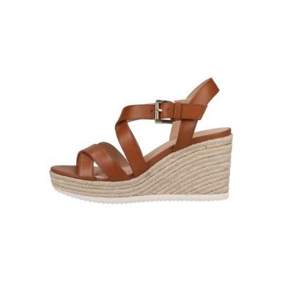 ジェオックス サンダル レディース シューズ High heeled sandals - cognac