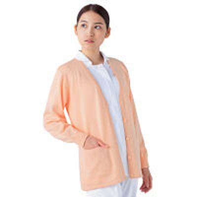 KAZENKAZEN カーディガン(丈長タイプ) 女性用 長袖 オレンジ L 220-94(直送品)