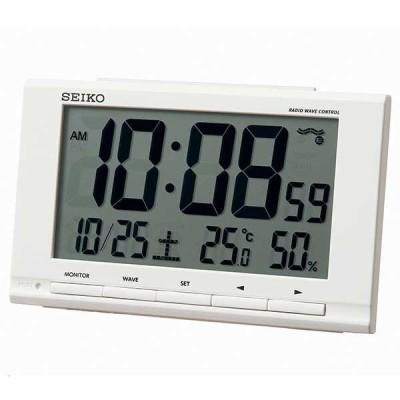 SEIKO セイコー デジタル目覚まし時計 SQ789W