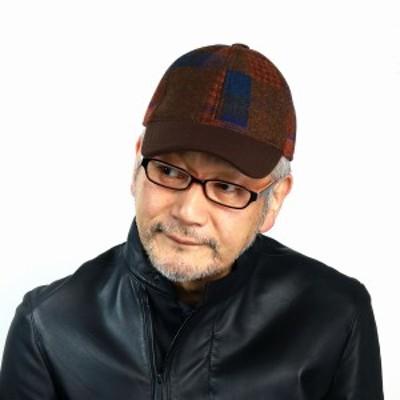 Crambes フランス製 キャップ ウール100% 秋冬 帽子 メンズ Crambes フランス製 キャップ 送料無料 GAN