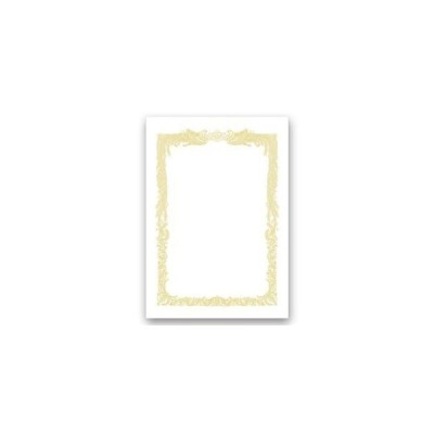 ds-2115127 ササガワ タカ印 OA賞状用紙 白 A4ヨコ書用 業務用パック 10-1161 1ケース(100枚) (ds2115127)