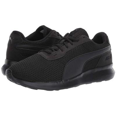 プーマ ST Activate メンズ スニーカー 靴 シューズ Puma Black/Puma Black