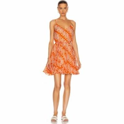 ロードリゾート Rhode レディース ワンピース ワンピース・ドレス casey dress Orange Batik