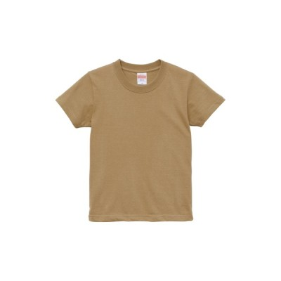 tシャツ Tシャツ 5.6オンス ハイクオリティー Tシャツ 〈90〜130cm〉 サンドカーキ
