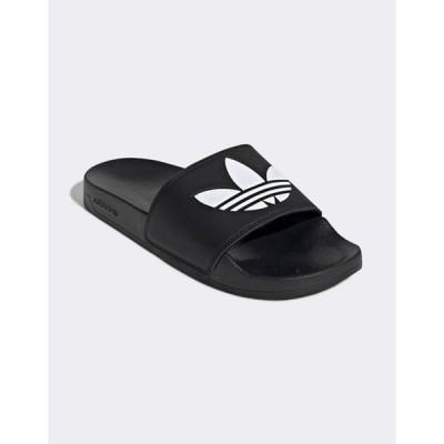 アディダス レディース サンダル シューズ adidas Originals adilette Lite sliders in black