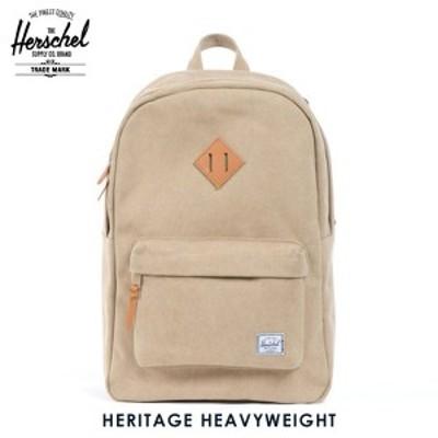 ハーシェル バッグ 正規販売店 Herschel Supply ハーシェルサプライ バッグ 10007-00012-OS Heritage Heavyweight Cotton Canvas Khaki D