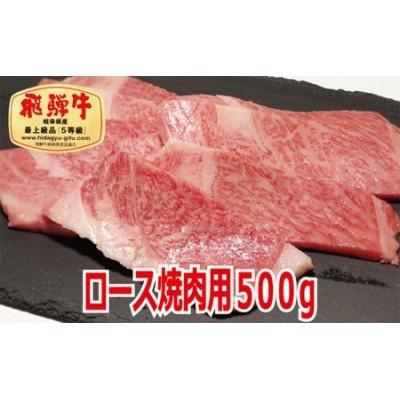 【最高級A5等級】飛騨牛ロース焼肉用500g