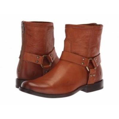 Frye フライ レディース 女性用 シューズ 靴 ブーツ ライダーブーツ Phillip Harness Short Whiskey Soft Vintage Leather【送料無料】