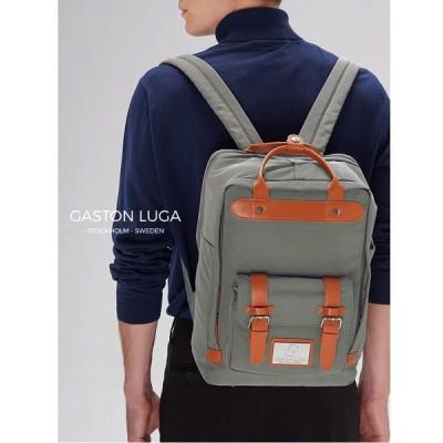 Gaston Luga ガストンルーガ リュック レディース メンズ ユニセックス おしゃれ 大人 通勤 かわいい ブランド BITEN ビーテン バックパック グレー 3204