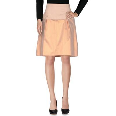 NATAN ひざ丈スカート ライトピンク 42 ポリエステル 100% ひざ丈スカート