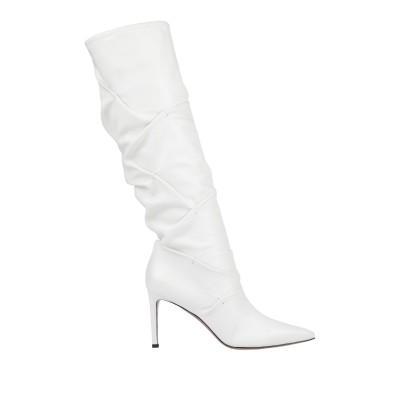 ロートレ ショーズ L' AUTRE CHOSE ブーツ ホワイト 36.5 革 ブーツ