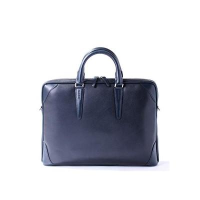 Sale[フジタカ] レザービジネスバッグ A4薄マチ ジェードレザーII No.616502 コン