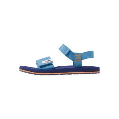 ノースフェイス メンズ サンダル シューズ MEN'S SKEENA - Walking sandals - donner blue/bright navy donner blue/bright navy