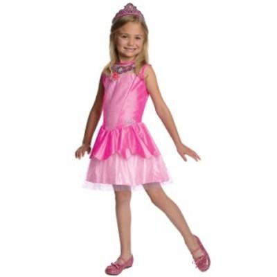 ハロウィン 衣装 子供 ルービーズ Barbie バービー クリスティン ピンク ドレス コスチューム 女の子 90-135cm 886741