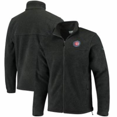 Columbia コロンビア スポーツ用品  Columbia Chicago Cubs Charcoal Flanker Full-Zip Jacket