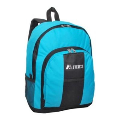 エバーレスト メンズ バックパック・リュックサック バッグ Backpack with Front and Side Pockets (Set of 2) White/Red