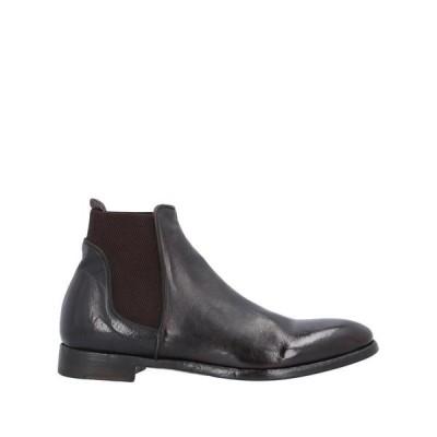 ALBERTO FASCIANI ショートブーツ ファッション  メンズファッション  メンズシューズ、紳士靴  ブーツ  その他ブーツ ダークブラウン