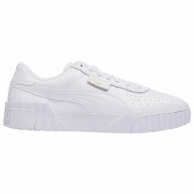 (取寄)プーマ レディース シューズ プーマ カリWomen's Shoes PUMA CaliWhite White 送料無料