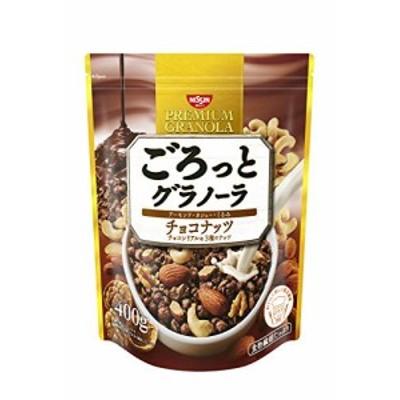 【新品】日清シスコ ごろっとグラノーラ チョコナッツ 400g6袋