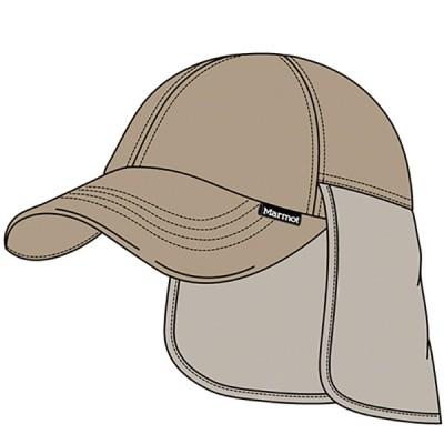 マーモット Marmot SUNSCREEN SHADE CAP アウトドア  キャップTOARJC36-SND