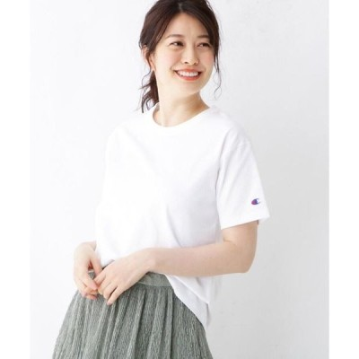 pink adobe / ピンクアドベ Championショート丈Tシャツ
