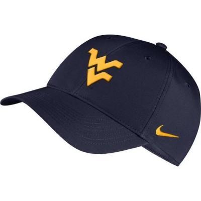 ナイキ メンズ 帽子 アクセサリー Nike Men's West Virginia Mountaineers Blue Legacy91 Adjustable Hat