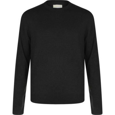 ハウィック Howick メンズ スウェット・トレーナー トップス Organic Cotton Crew Sweatshirt Charcoal Marl