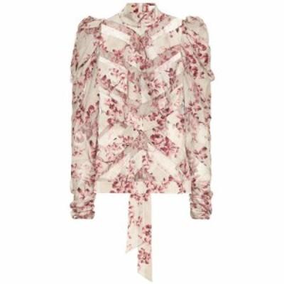 ジマーマン Zimmermann レディース ブラウス・シャツ トップス Unbridled stretch silk blouse sand wild floral