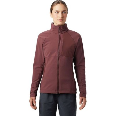 マウンテンハードウェア Mountain Hardwear レディース ジャケット アウター Keele Full Zip Jacket Washed Raisin