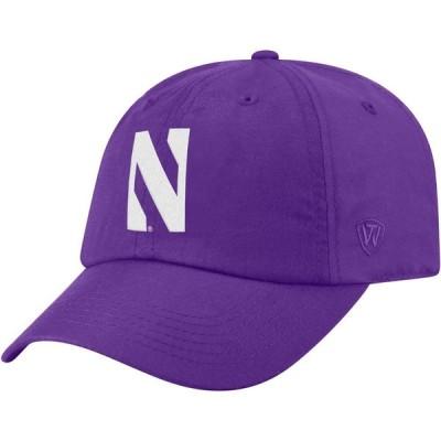 トップオブザワールド Top of the World メンズ キャップ 帽子 Northwestern Wildcats Purple Staple Adjustable Hat