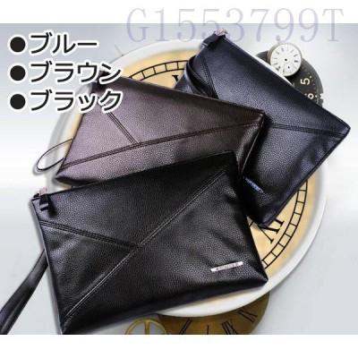 セカンドバッグビジネスバッグハンドバッグクラッチバッグメンズ鞄PU通勤仕事集金用営業用ファスナー付きおしゃれギフトプレゼントバッグ