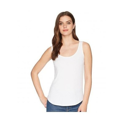 Splendid スプレンデッド レディース 女性用 ファッション トップス シャツ Zuma 2x1 Rib Scoop Tank Top - White