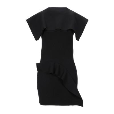 リック オウエンス RICK OWENS ミニワンピース&ドレス ブラック XS レーヨン 63% / ポリエステル 27% / ナイロン 7% /