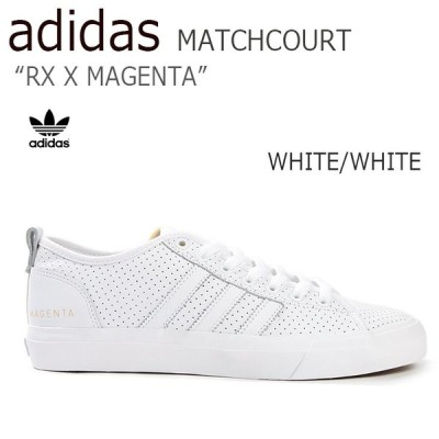 adidas SKATEBOARDING MATCHCOURT RX X MAGENTA ホワイト CG4871 アディダス