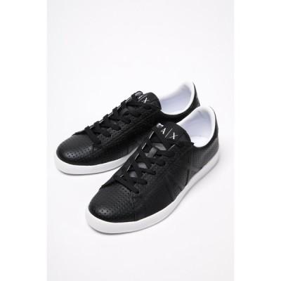 アルマーニ エクスチェンジ スニーカー ローカット シューズ 靴 メンズ XUX016 XCC03 ブラック ARMANI EXCHANGE