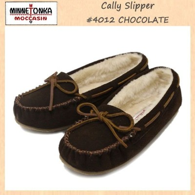 sale セール MINNETONKA(ミネトンカ) Cally Slipper(キャリースリッパ) #4012 CHOCOLATE レディース MT263