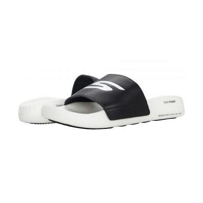 SKECHERS スケッチャーズ メンズ 男性用 シューズ 靴 サンダル Go Hyper Slide - Black/White