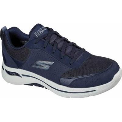 スケッチャーズ メンズ スニーカー シューズ Men's Skechers GOwalk Arch Fit Recharge Sneaker Navy/Blue
