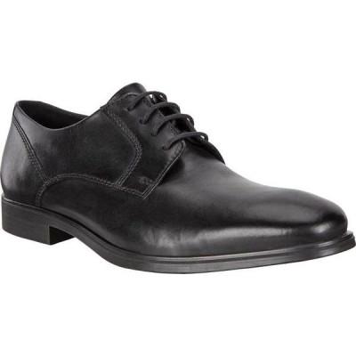 エコー メンズ オックスフォード シューズ Queenstown Plain Toe Tie Oxford